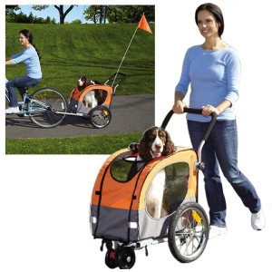 Cross Trainer Dog Stroller Bike Trailer