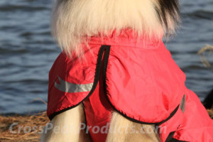 front flap on torrent dog rain jacket