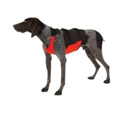 Fluorescent Orange Chest Protector Dog Vest